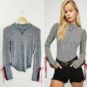 Free People Mountaineer Cuff Thermal NWT